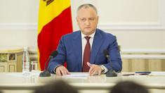 Igor Dodon | Guvernul Chicu ar putea demisiona pentru a provoca alegeri anticipate