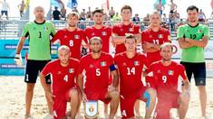 Naționala de fotbal pe plajă va evolua în optimele Cupei Mondiale