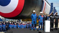 VIDEO | Emmanuel Macron a prezentat ultimul tip de submarin nedetectabil pe radar, construit în Franţa