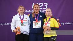 Sportiva de 19 ani din R.Moldova a obținut argintul la Europenele Under 23