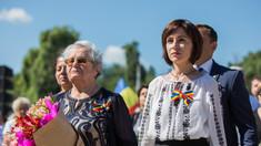 FOTO | Maia Sandu, către foștii deportați: Sunteți un model de rezistență, curaj și omenie - valori care ar trebui să ghideze liderii politici și oamenii de stat