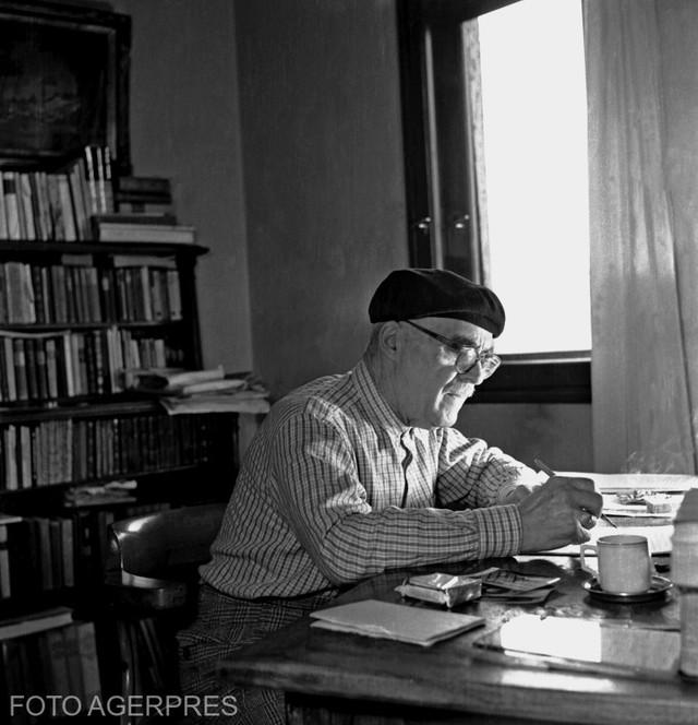 PORTRET | Viața neștiută a lui Tudor Arghezi – de la geniu fără Bacalaureat, la deținut, muncitor și călugăr