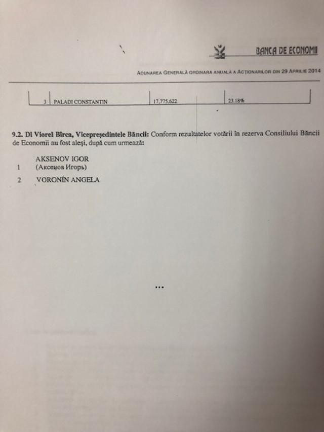 DOC | Vlad Filat, despre numirea lui Ilan Șor la conducerea BEM și despre cine a aprobat emisia suplimentară de acțiuni la fosta bancă a statului