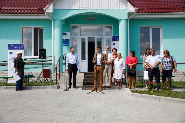 UE a construit un centru medical pentru locuitorii din satul Hagimus, dar și pentru cei din orașul Bender