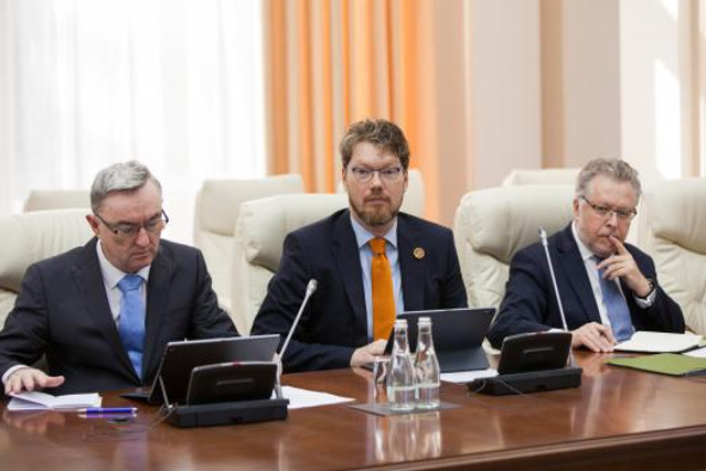 Ambasadorii UE în R.Moldova au fost invitați la Guvern și au discutat prioritățile actualei guvernări