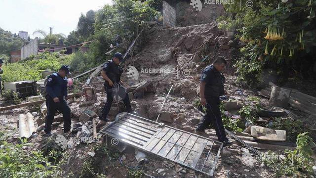 Mexic - Şase morţi în urma unei alunecări de teren provocată de ploi