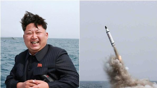 """Kim Jong-Un spune că testul balistic de ieri a fost un avertisment pentru """"agresorii"""" din Coreea de Sud"""