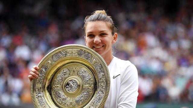 INEDIT   Simona Halep își va prezenta trofeul de la Wimbledon dintr-un autobuz etajat la Constanța