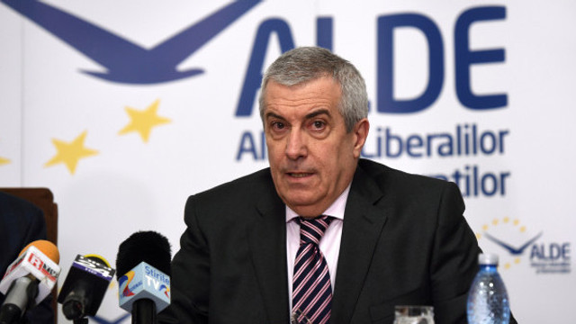Călin Popescu Tăriceanu este desemnat candidatul ALDE la prezidenţiale din România. Prima declarație