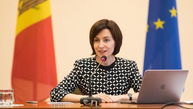 Maia Sandu, despre rezultatele preliminare ale alegerilor parlamentare din Ucraina: Vă felicit pentru mobilizare și votul clar împotriva corupției