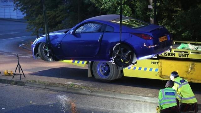 VIDEO | Două mașini s-au ciocnit la un eveniment auto din Marea Britanie. Cel puţin 17 persoane au fost rănite