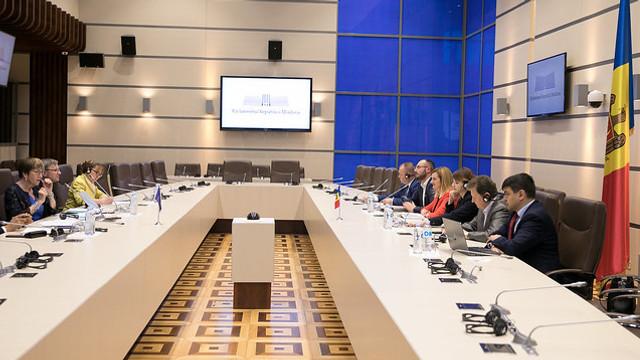 Coraportorii APCE au discutat în Parlament situația R.Moldova de după criza constituțională și politică din iunie 2019