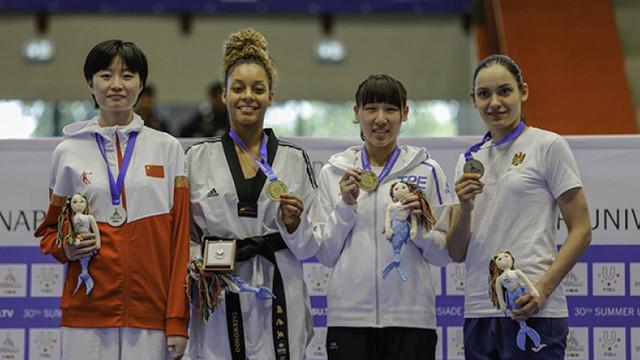 Ana Ciuchitu a cucerit medalia de bronz la Universiada Mondială