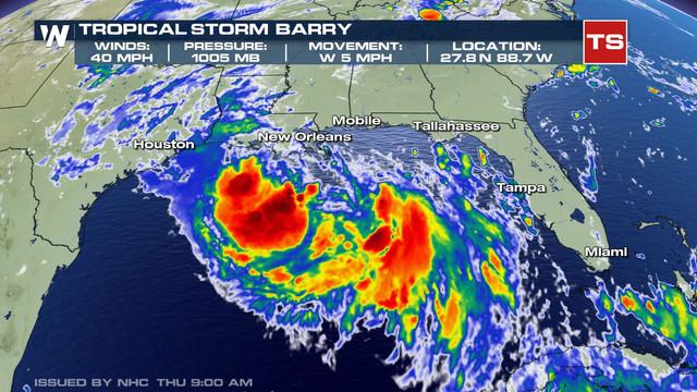 Donald Trump decretează starea de urgenţă înainte de furtuna tropicală Barry