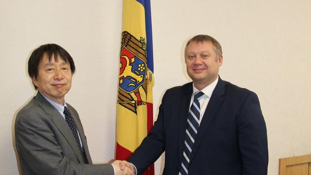 """Ministrul Vadim Brînzan către Ambasadorul Japoniei în R.Moldova: """"Îmi doresc ca relațiile dintre țările noastre să cunoască un nou nivel de dezvoltare"""""""