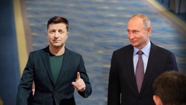 Convorbirea telefonică dintre Putin și Zelenski a durat 20 de minute - precizează Kremlinul