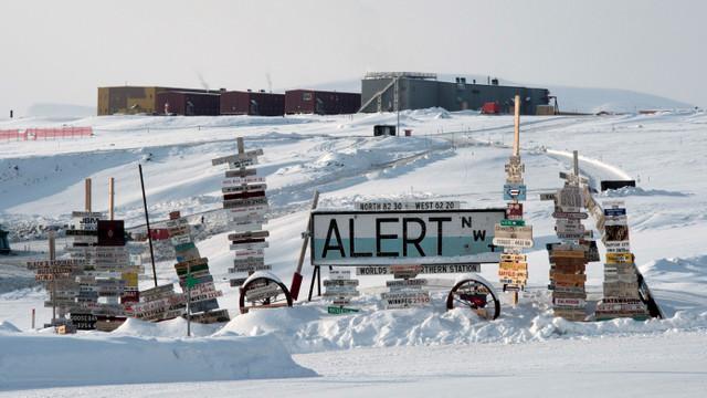 La Polul Nord s-a înregistrat o temperatură record de căldură