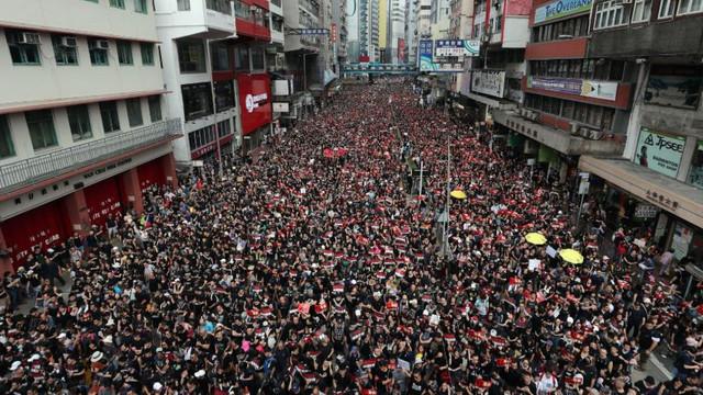 Cotidianul China Daily, deţinut de Partidul Comunist Chinez, acuză Occidentul pentru tensiunile din Hong Kong