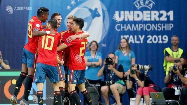 Fotbal | Spania a câștigat Campionatul European Under-21