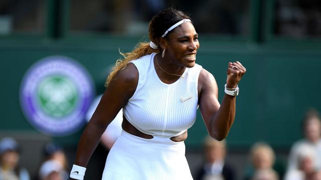 Tenis: Serena Williams, calificată în sferturi la Wimbledon