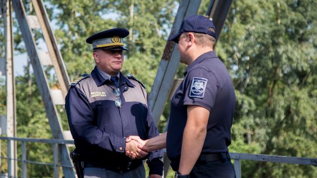 Poliția de Frontieră a felicitat colegii din România. Se împlinesc 155 de ani de la unirea corpurilor grănicerești din Țara Românească și Moldova