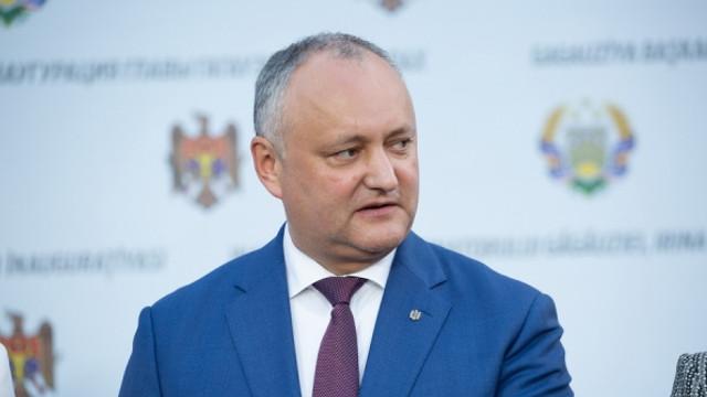 Igor Dodon: Cel mai probabil, Ion Ceban va fi candidatul PSRM la Primăria Capitalei