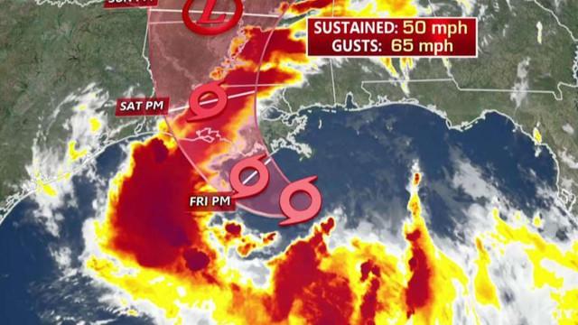 Furtuna tropicală Barry, aproape de uragan, se apropie de statul american Louisiana