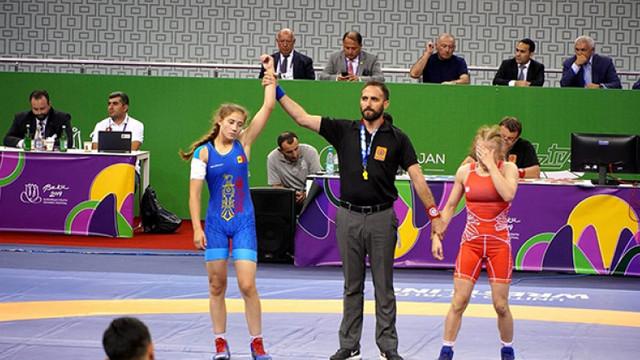Mihaela Samoil a urcat pe podium la Festivalul Olimpic al Tineretului European