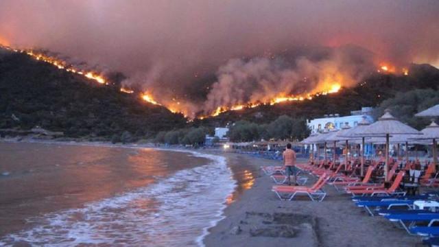 O nouă avertizare de călătorie în Grecia | Risc ridicat de incendii de vegetaţie