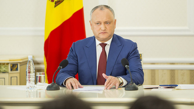 Igor Dodon a semnat decretele privind numirea noilor ambasadori în Estonia și China