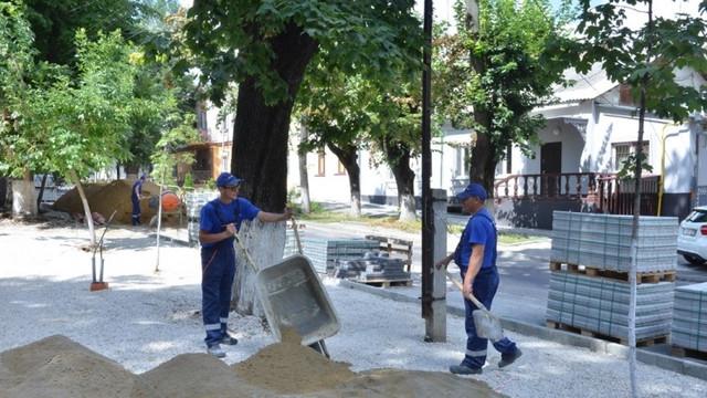 Reabilitarea zonei pietonale din centrul istoric al capitalei, în perimetrul a 4 străzi