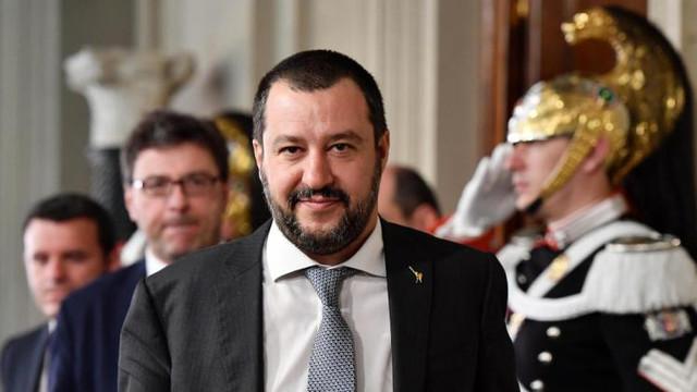 Premierul italian Matteo Salvini este acuzat că a interzis o grevă la ordinul Kremlinului