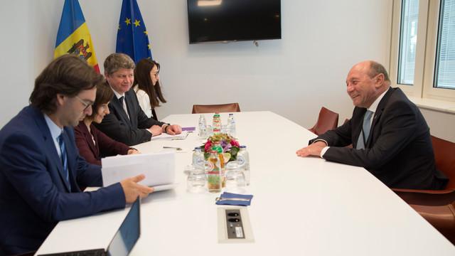 Traian Băsescu, la întâlnirea cu Maia Sandu: R.Moldova trebuie să rămână un subiect important în discuțiile din Uniunea Europeană