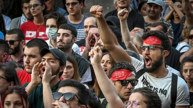 Georgia | Mobilizare masivă a forțelor de ordine la Tbilisi, în contextul protestelor antiguvernamentale