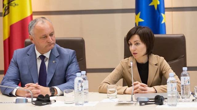 Igor Dodon le-a convocat pe Maia Sandu și Zinaida Greceanîi la discuții despre eficiența guvernării