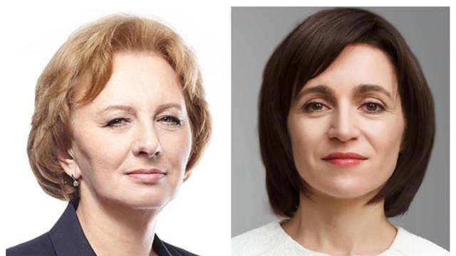 Maia Sandu și Zinaida Greceanîi merg într-o vizită oficială la Bruxelles