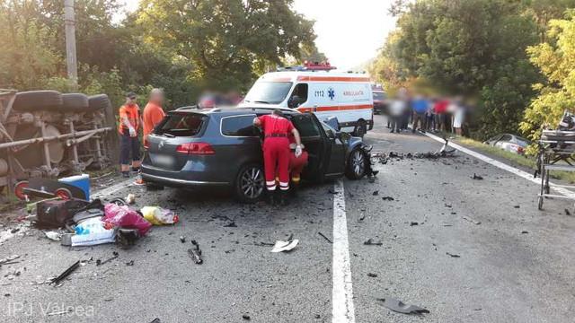 Doi cetățeni ai R.Moldova, care mergeau în Bulgaria, au murit în România într-un accident rutier