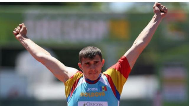Sulițașul Andrian Mardare a cucerit aurul la Universiada Mondială