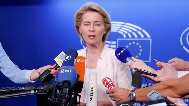 Candidata nominalizată la șefia Comisiei Europene, Ursula von der Leyen, speră că Marea Britanie va renunţa la Brexit