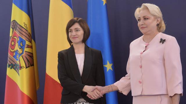 """Viorica Dăncilă, după întrevederea cu Maia Sandu: """"Am subliniat importanța consolidării comunității de limbă, istorie, care stă la baza relației speciale cu R. Moldova"""""""