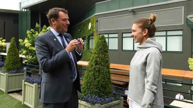 Învingătoare la Wimbledon, Simona Halep a intrat în All England Club, cu doar 565 de membri