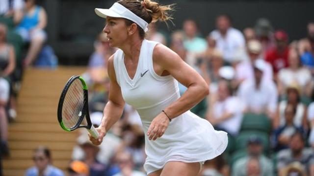 Wimbledon 2019 | Simona Halep  s-a calificat în semifinale, după victoria cu Shuai Zhang