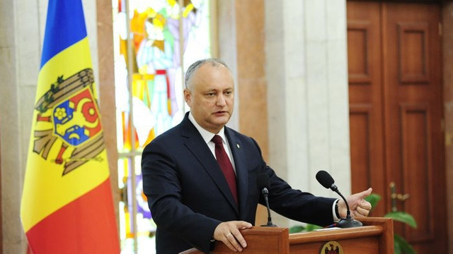 Igor Dodon a anunțat prioritățile pentru reglementarea diferendului transnistrean