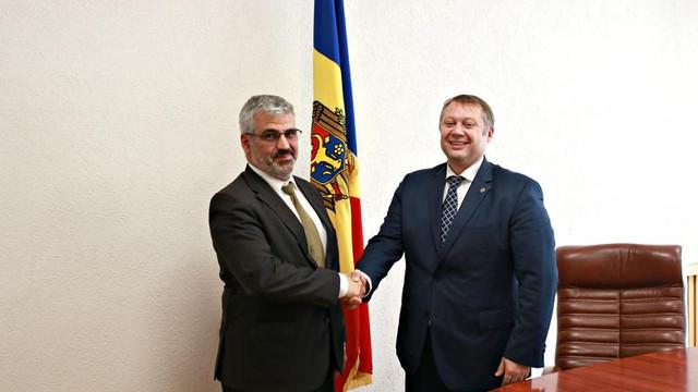 """Vadim Brînzan, la întrevederea cu reprezentantul BEI, a vorbit despre prioritățile """"4D"""" ale ministerului pentru acest an"""
