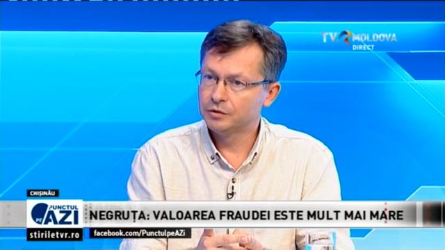 Veaceslav Negruța: Valoarea fraudei este mult mai mare decât miliardul furat ( Revista presei)