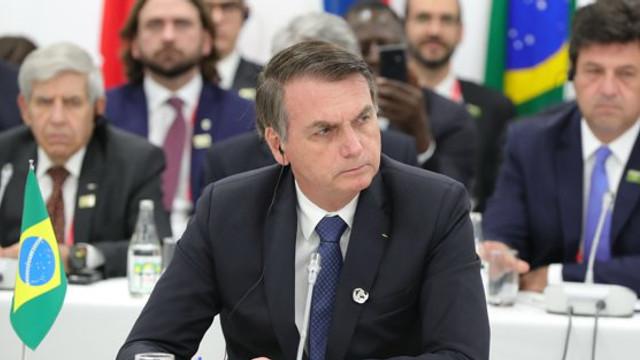 Preşedintele Braziliei Jair Bolsonaro a oferit funcţia de ambasador în SUA unuia dintre fiii săi