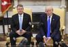 Preşedintele României, Klaus Iohannis se întâlneştecu Donald Trump, la Washington