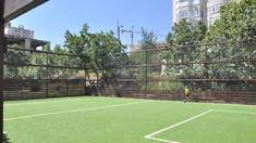 FOTO | Trei terenuri noi de minifotbal au fost recent amenajate în Chișinău
