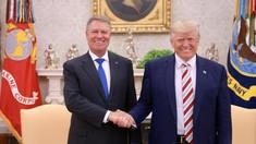 Întâlnire istorică la Casa Albă. Președintele României,  Klaus Iohannis şi Donald Trump au adoptat o declaraţie comună privind întărirea relaţiilor