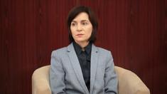 Maia Sandu întreprinde o vizită oficială în Lituania